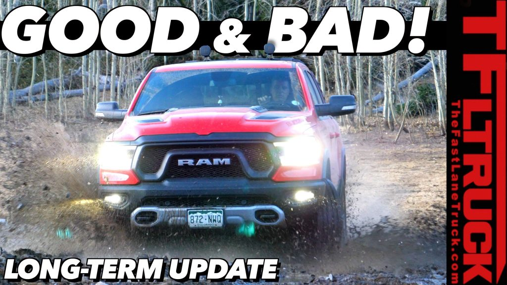 2019 Ram Rebel 21,000 Miles One-Year Update: Everything That Broke and All That Went Right (Video)