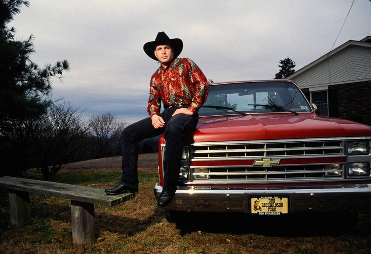 Chevrolet Trucks Garth Brooks Chevy Pickup