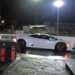 Watch Tesla Model S Performance Raven Race Lamborghini Huracan